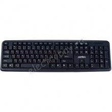 Клавиатура PERFEO CLASSIC стандартная, USB, черная (PF-6106-USB)