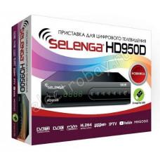 Приставка для цифрового ТВ SELENGA HD950D DVB-T2/C в Воронеже дешево