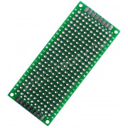 Плата 3*7 см двусторонняя макетная для Arduinо тип PCB