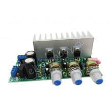 Аудио усилитель стереофонический с сабвуфером TDA2050 + TDA2030 система 2.1