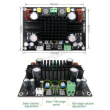 Мощный аудио усилитель XH-M571 150 Вт Моно для Сабвуфера