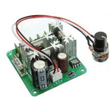 Регулятор оборотов двигателя ШИМ 6-90В 15А модель CCMHCN. Мощность: 0,01-1000 Вт, скорость: от 0 до 100%, 16 КГц.
