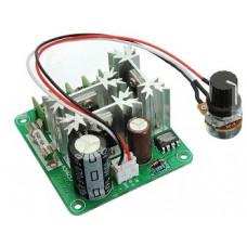 Купить Регулятор оборотов двигателя ШИМ 6-90В 15А модель CCMHCN. Мощность: 0,01-1000 Вт, скорость: от 0 до 100%, 16 КГц. в Воронеже